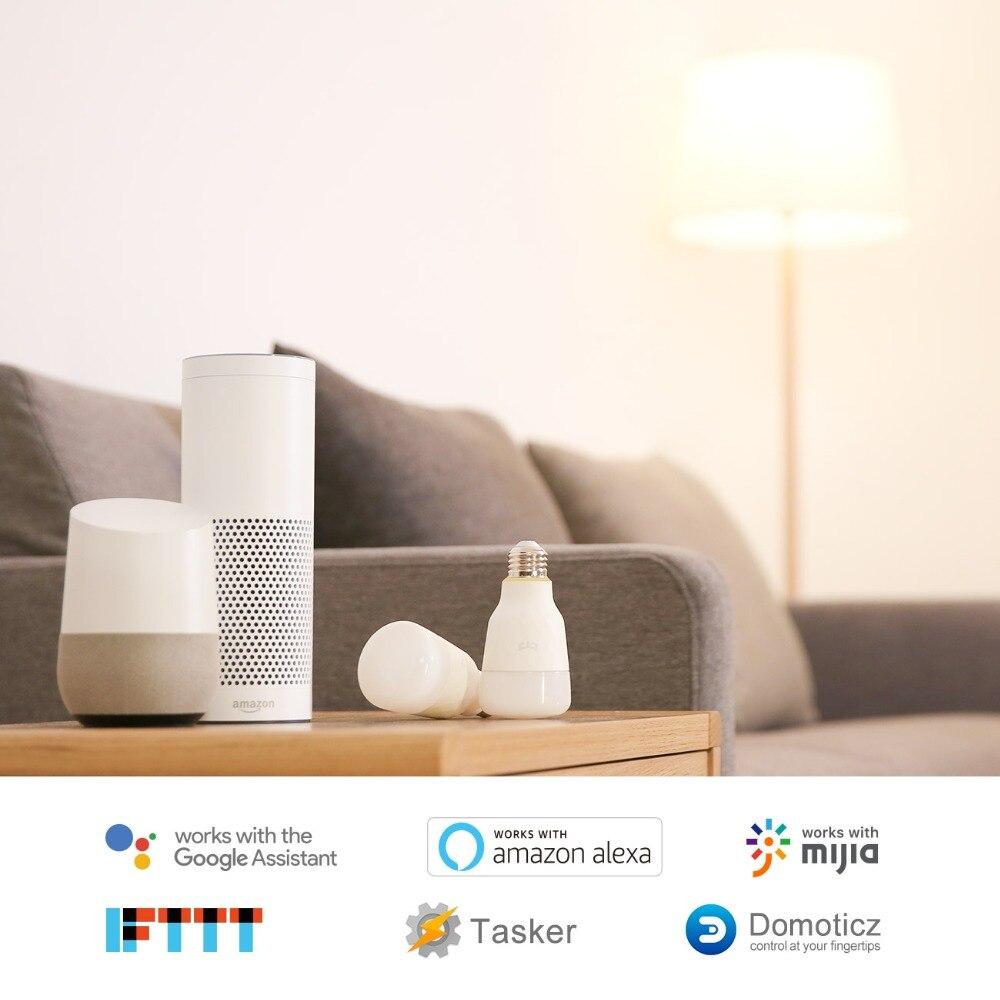 Żarówka działa z HomeKit, Google Home, IFTTT, TASKER,Mija, Domoticz, Alexa by Amazon