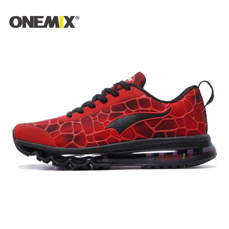 ONEMIX 2016 yastığı sneaker orijinal zapatos de evbre kişi idman - İdman ayaqqabıları - Fotoqrafiya 5