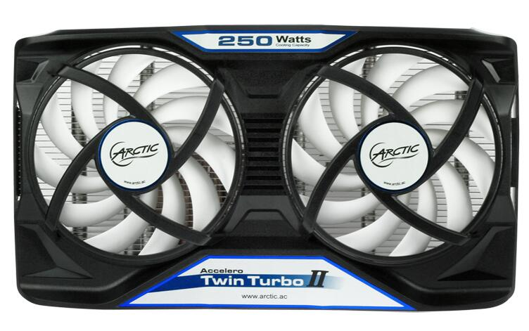 US $59 99 |Arctic Accelero Twin Turbo II, dual 92mm PWM Fan video card  cooler Replace for R9 380, 370X, 285, 270, R7 370, GTX 980, 970, 960-in