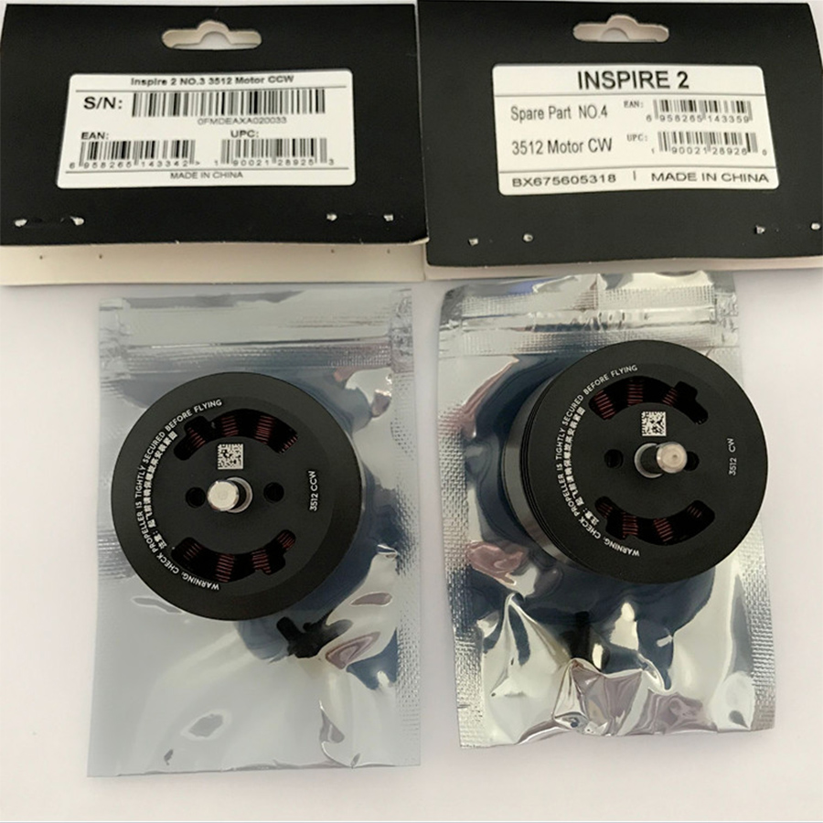 1PC CCW CW Motor Genuine Spare parts for DJI Inspire 2 Original 3152 Motor Replacement Repair