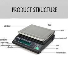 JJ серии 3000 г 0,1 г Цифровой точности Электронные весы, аналитические, точные весы для лаборатории преподавания