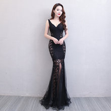 f84de800b93 Длина до пола полное руководство Gauzy Сексуальная звезда полный выпускной  вечер вечерние платья 2018 коктейльное платье ночные .