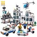 1230pcs Police Office Model Building Blocks Compatible with major brand blocks Building Bricks Educational Enlighten Kids Toy