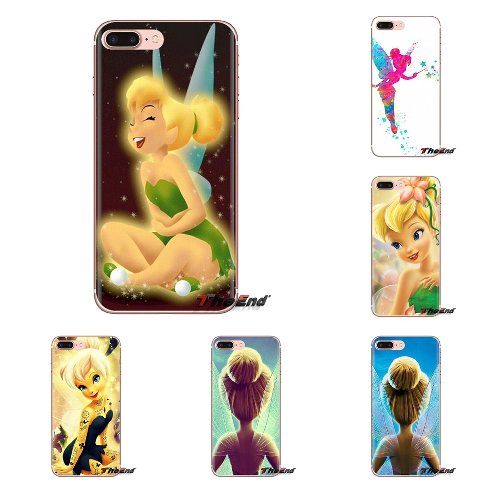 Cover Bell Fairy Tinker Silicone-Case Pocophone F1 Xiaomi Redmi Plus Note For 4A S2 3