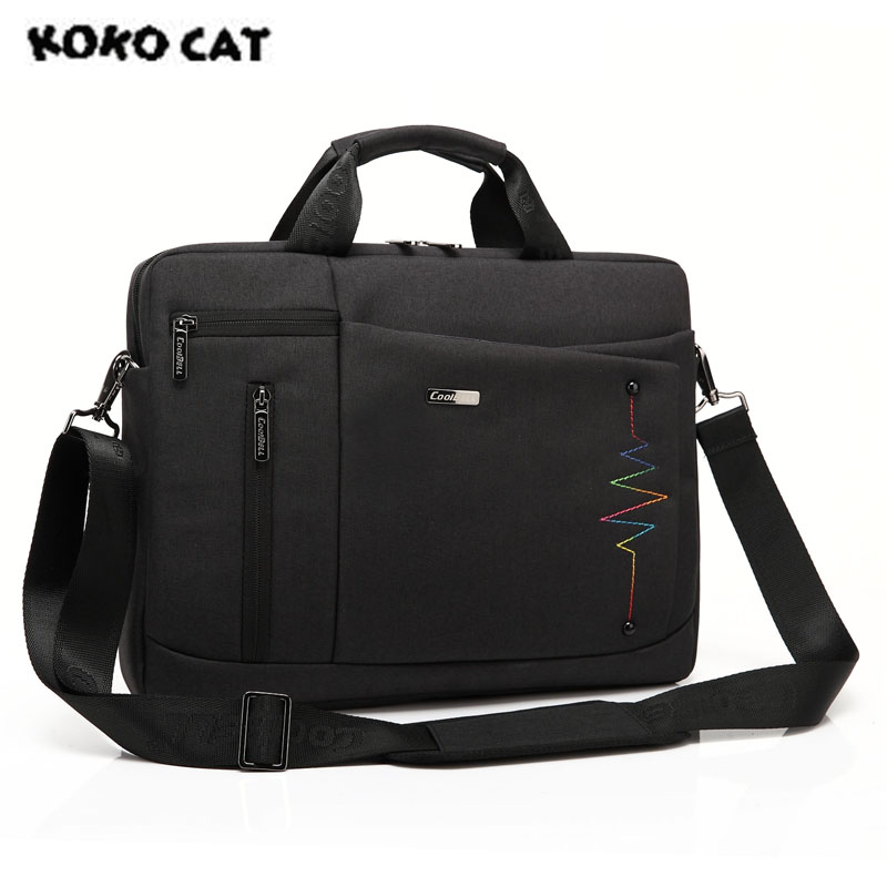 2017 KOKOCAT Crushproof 15.6 inch Notebook Handbag Computer Laptop Bag for Men Women Briefcase Casual Shoulder Bag 5 Color 600