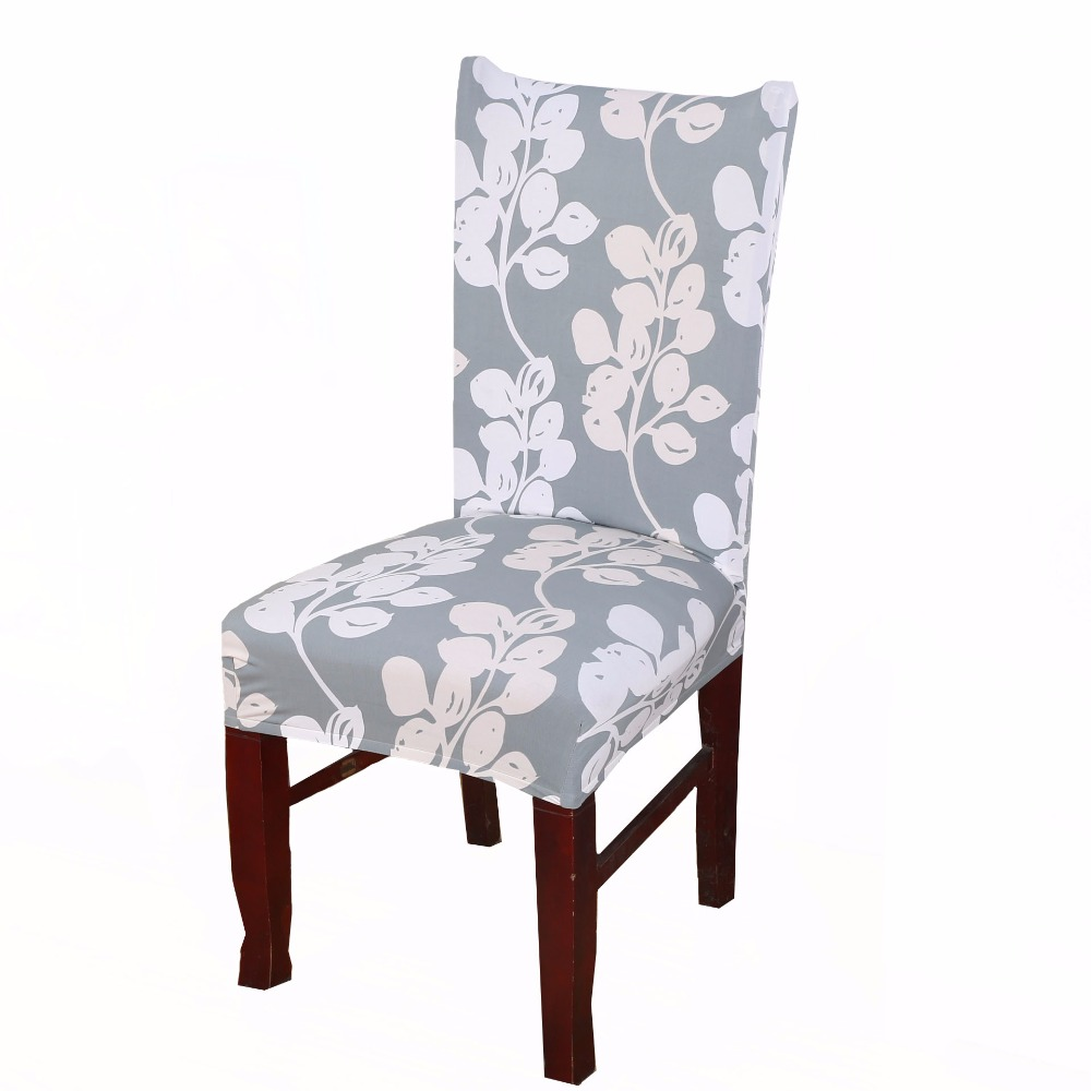 Comwarm Modern Dining Room Elastic Spandex Polyester Chair ...
