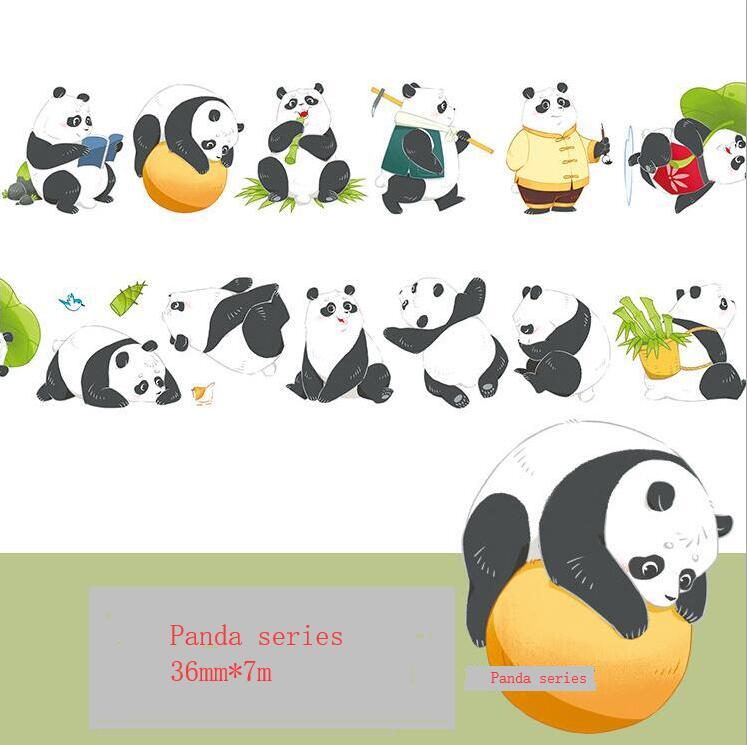 Chinese kawaii pandas All kinds of lovely pandas Washi Tape DIY Scrapbooking Sticker Label Masking Tape School Office SupplyChinese kawaii pandas All kinds of lovely pandas Washi Tape DIY Scrapbooking Sticker Label Masking Tape School Office Supply