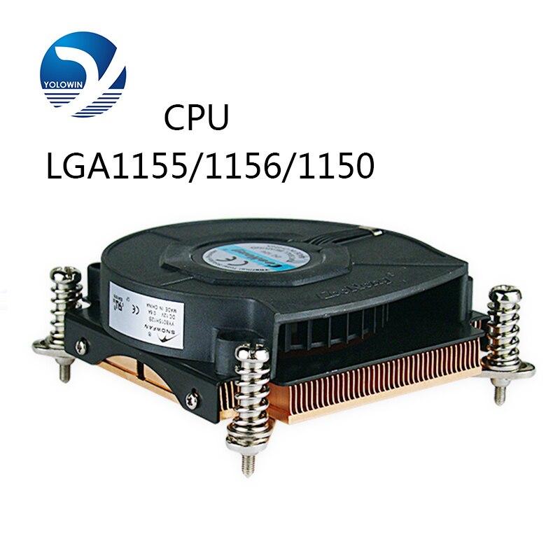 Ventilateur refroidisseur de processeur radiateur pour Intel LGA1155/1156/1150 ordinateur refroidissement par eau radiateur cuivre radiateur électrique D5-04-2