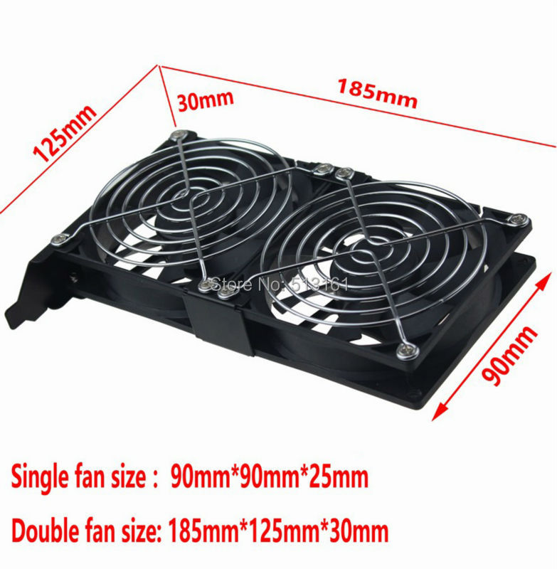 double fan 90mm 4