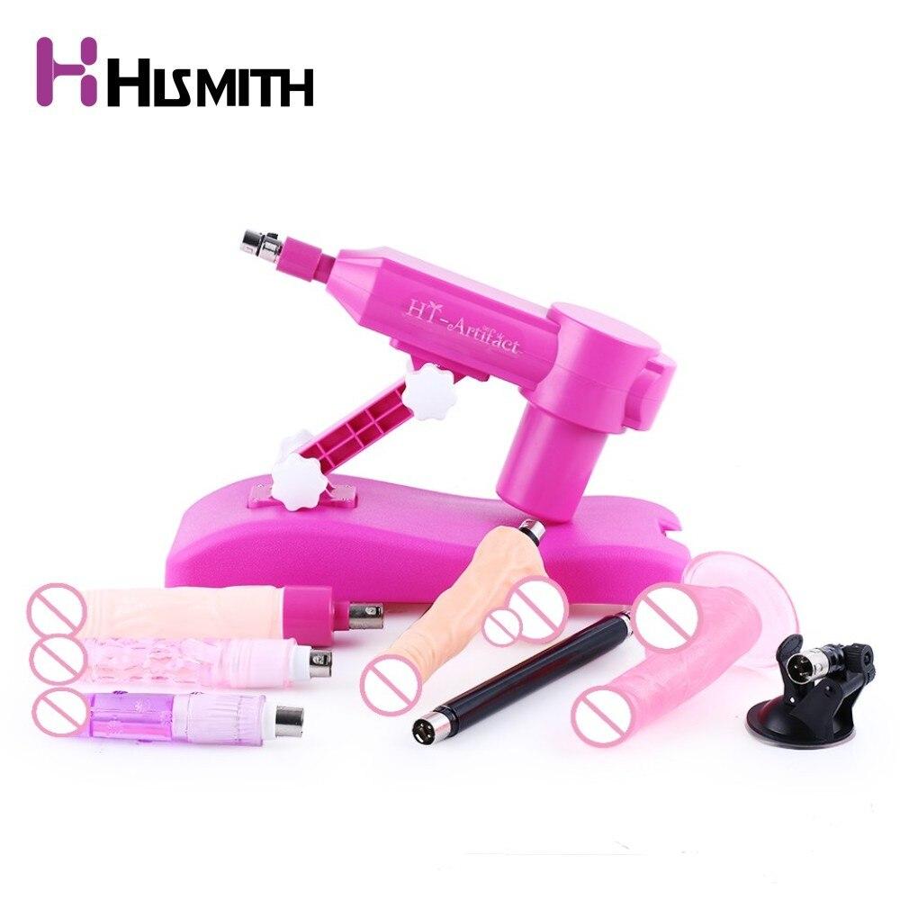 Hismith автоматическая секс машина для женщин с 7 вложения воды инъекции убирающимся любовь машина ce rohs интимные изделия