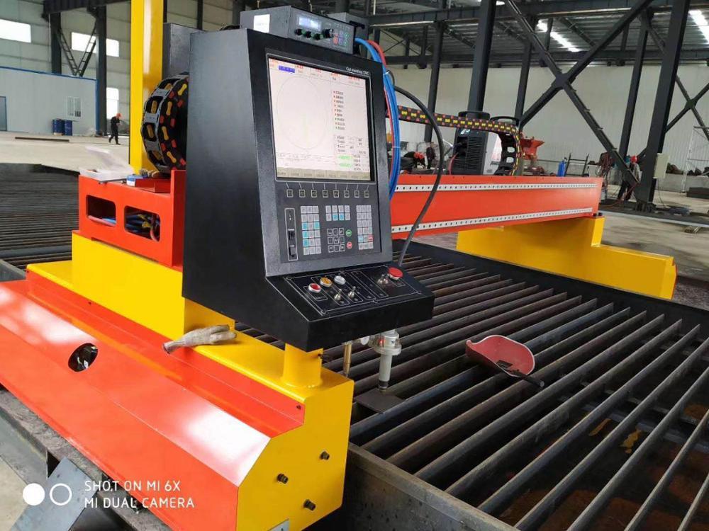 Heavy duty gantry CNC 3m * 12m maszyna do cięcia plazmowego gazu cena z mocą plazmową usa
