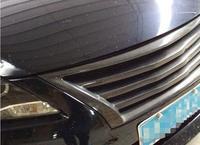 Автомобиль Стайлинг чехол для NISSAN Sylphy Bluebird Sylphy 2012 2015 автомобиля спереди углеродное волокно бампер Гриль grilleMODELS для выбора