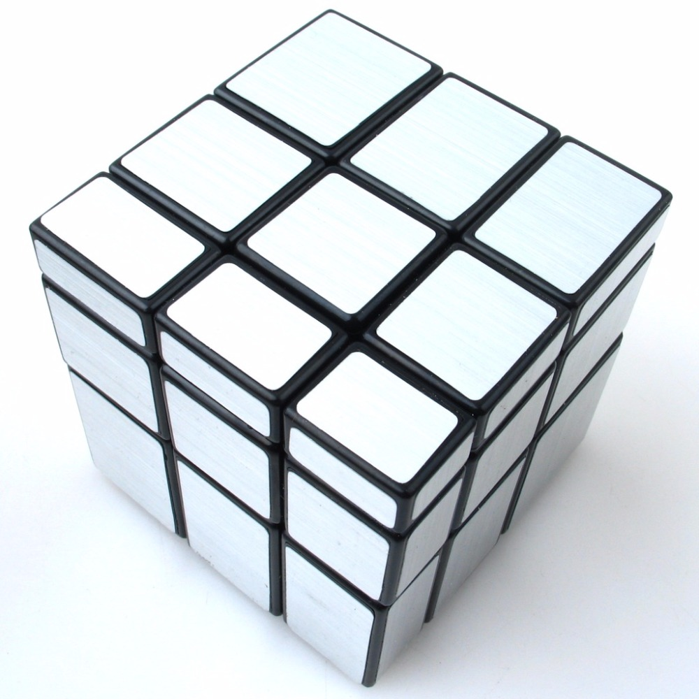 Magic Mirror Cube Professional Cast Coated Puzzle Speed Twist Learning and Education Toys Cube for Children