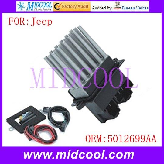 New Blower Motor Resistor use OE NO. 5012699AA 05012699AA RU358 RU-358 for Jeep Grand Cherokee ...