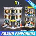 LEPIN 15005 Presale 2182pcs City Creator Grand Emporium Model Building Blocks Kits Brick Toy Compatible Educational toys 10211