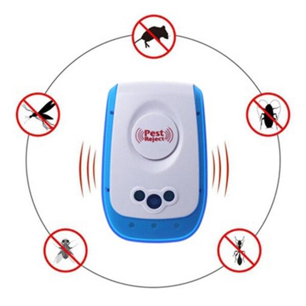NOCM-NEW ультразвуковой электронный анти комаров крыса вредителей насекомых Таракан Отклонить Отпугиватель