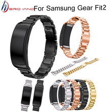 Stainless Steel Bracelet Watch Band Strap For Samsung Gear Fit 2 SM-R360 Smartwatch Replacement Wristband for Samsung Gear fit2 fashion watch band luxury replacement silicone watchbands for samsung gear fit 2 fit2 sm r360 bracelet wristband strap hot sale