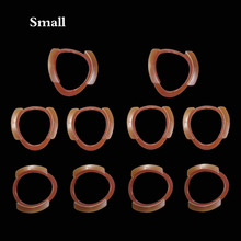 10 pcs/lot Dental Cheek Retractor Mouth Opener Lip Expander O-shape Small Size Orange