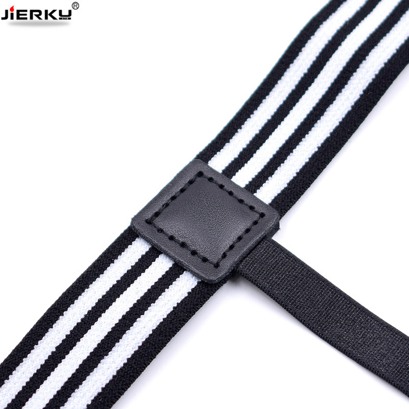 1pair Men Women Adjustable Elastic Shirt Garters White Shirt Stays Holder Leg Suspenders Shirt Braces Gourd Buckle Shirt Garters Men's Accessories