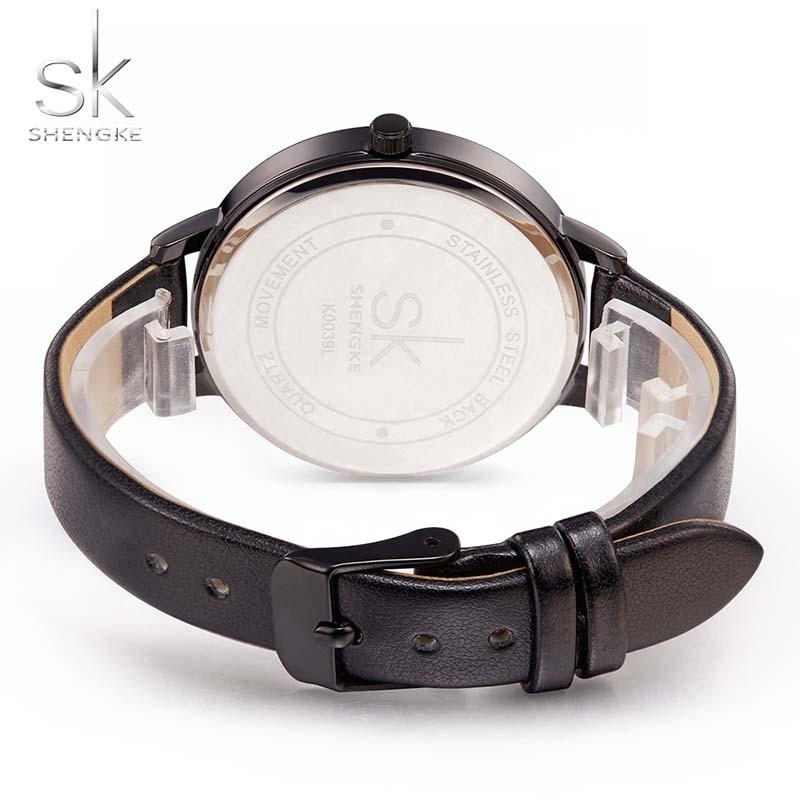 Women Watches Hot fashion creative watches women New Elegant Dress Leather Strap Ultra Slim Wrist Watch clock Reloj Mujer 4
