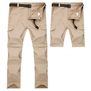 Image 3 - Mountainskin 7XL גברים של קיץ מהיר יבש נשלף מכנסיים לנשימה מכנסיים חיצוני ספורט טיולי טרקים דיג מכנסיים VA110