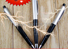 3PCS electric toy spoof strange evil originality tricky toys scary Funny Office of electricity pen