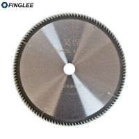 FINGLEE 1Pc 10 inch 120T TCT Woodworking Circular Saw Blade Acrylic Plastic Cutting Blade General Purpose for Hard Soft Wood