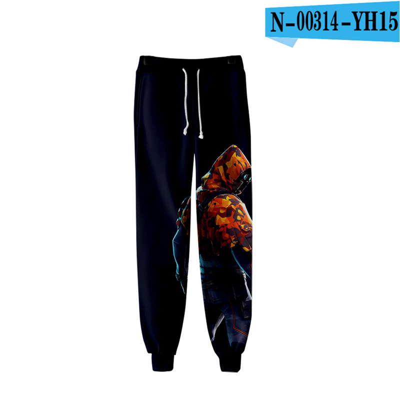 Fortnit Print Pants Kids Trousers 2019 Streetwear Fortnited Print Clothings Women Clothes Men Game Clothing Game Clothes Fornit