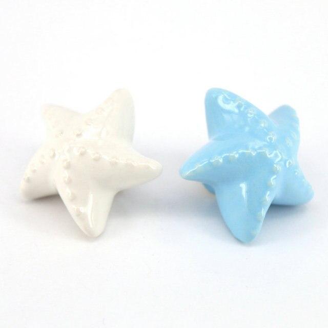 Dia 46mm Nette Starfish Knöpfe für Kinder Küche Möbel Keramik ...