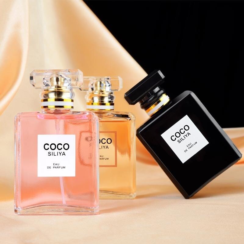 JEAN MISS 50ml Bottle Glass Perfume Women Atomizer Perfume Female Parfum Fashion Lady Flower Fruit Fragrance  WP07