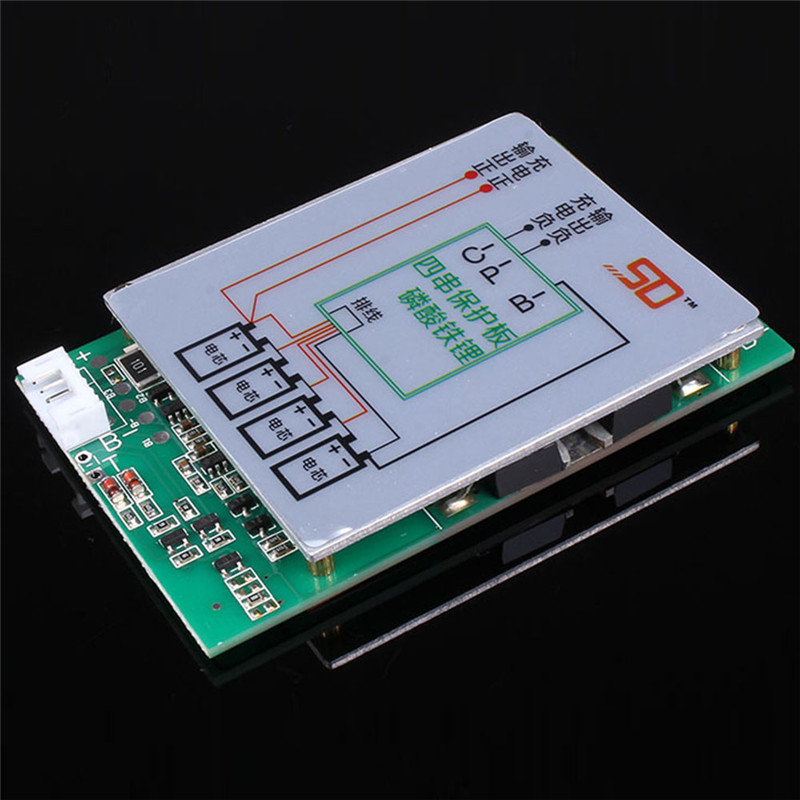 4S 150A Polymer Lithium Battery Charger Protection Board PCB w/ Blance Split-Pins For 4pcs Li-ion Charging Protection Module 5pcs 2s 7 4v 8 4v 18650 li ion lithium battery charging protection board pcb 40 7mm overcharge overdischarge protection