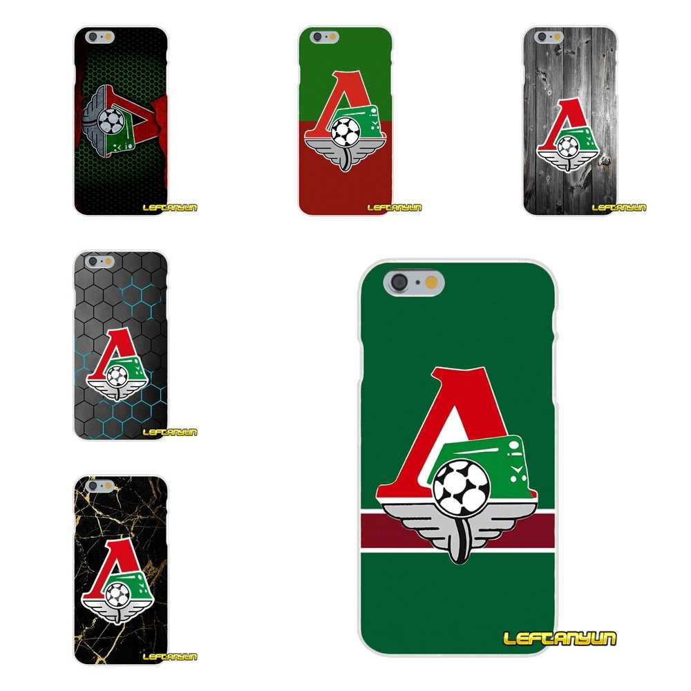 FC Lokomotiv Moscow Soft Silicone phone Case For iPhone X 4 4S 5 5S 5C SE 6 6S 7 8 Plus
