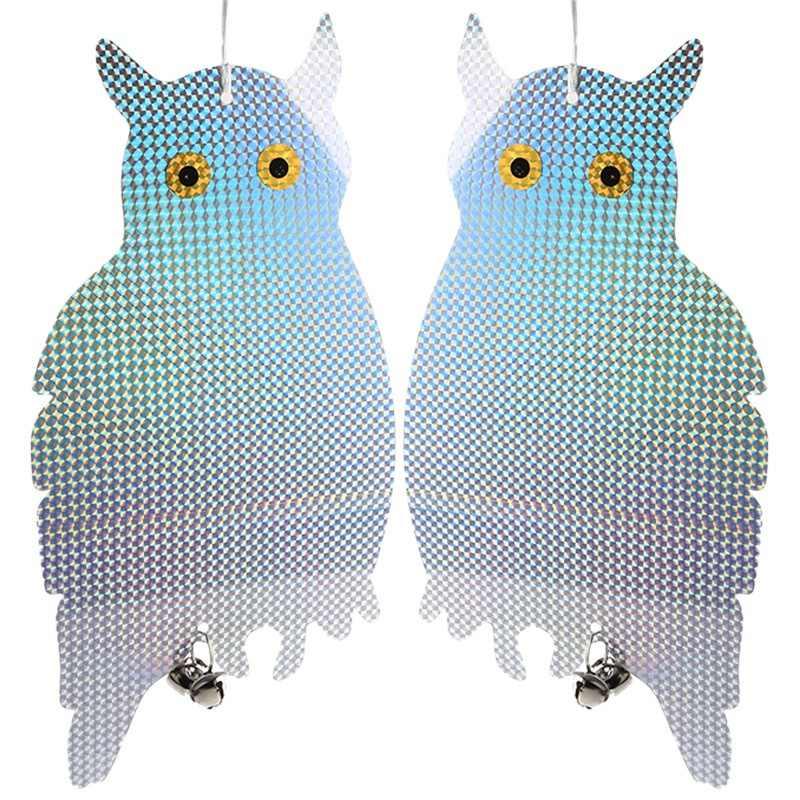 Garden Laser Reflective Fake Owl Supplies Hanging Reflective