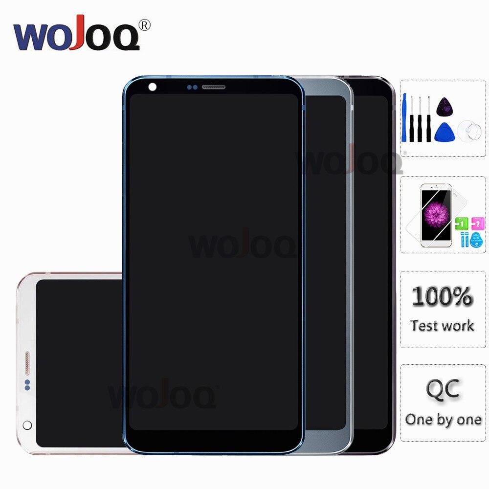 Oryginalny wyświetlacz do LG G6 H870 LCD ekran dotykowy z ramką dla G6 H873 H872 LS993 VS998 US997 zespołu wyświetlacza w celu uzyskania w Ekrany LCD do tel. komórkowych od Telefony komórkowe i telekomunikacja na AliExpress - 11.11_Double 11Singles' Day 1
