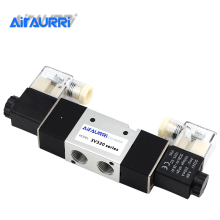 цена на 3V320 Series G3/8 Solenoid Valve Two Position Three Way Pneumatic Valve Single Double Coil DC AC 12V 24V 36V 110V 220V 380V