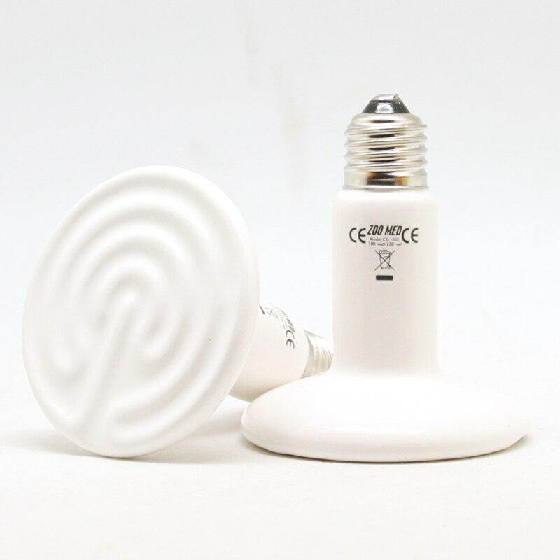 1 Pc Ceramic Infrared Heat Lamp Warm Quality Light Bulb