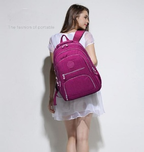 Image 5 - TEGAOTE szkoły plecak dla nastolatki Mochila Feminina kobiety plecaki Nylon wodoodporna dorywczo plecak na laptopa kobiet Sac A Do