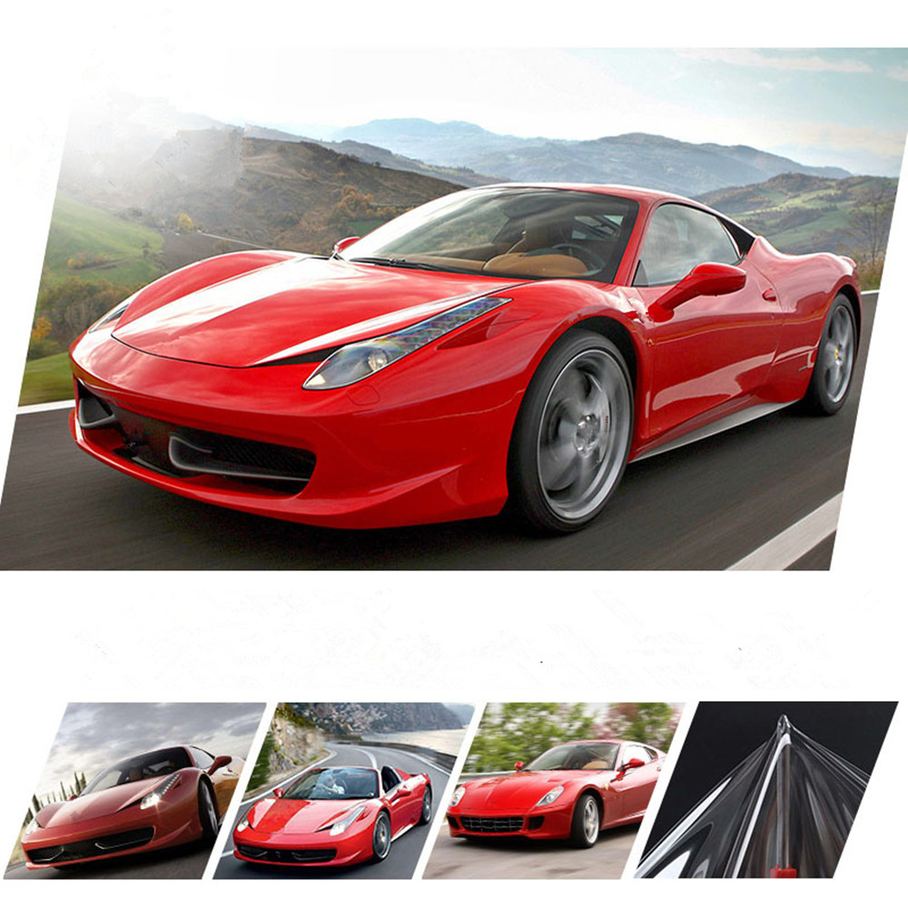 HOHOFILM 3Layers PPF Glossy Car Body Hood Paint TPU Film Clear Anti Scratch Shield PPF Protective 1.52x10m Wholesale