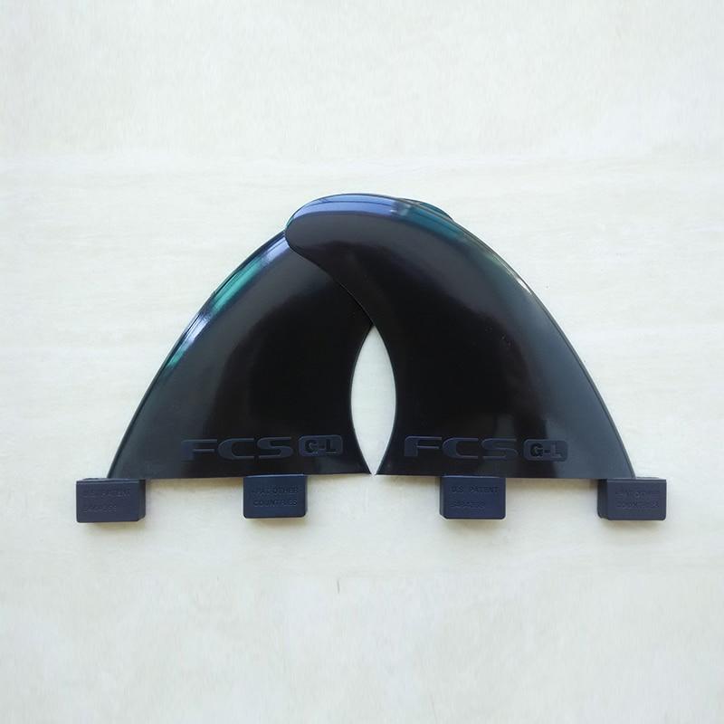 FCS GL Fins zwart plastic surfplank Fin hoge kwaliteit surfvinnen - Watersporten - Foto 3