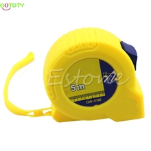 5m universal retractable steel ruler tape measure sewing cloth metric tailor tools