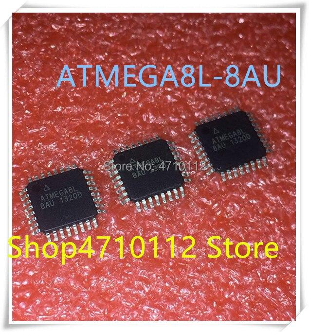 NEW 10PCS/LOT ATMEGA8L-8AU ATMEGA8L 8AU ATMEGA 8L-8AU QFP-32 IC