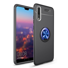 Magnetic Ring Cover For Huawei P20 P10 P9 P8 Mate 10 lite Case Rotating Finger Honor 9 Pro Capa