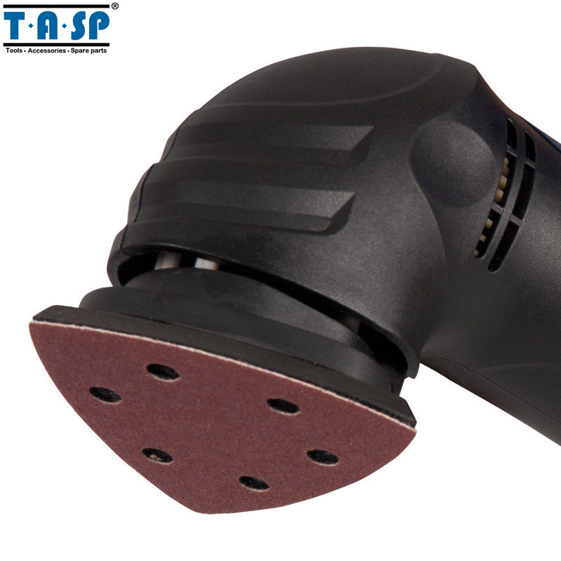 TASP 25pcs 93mm Papel de lija Delta Sander Disco Gancho y bucle Papel - Herramientas abrasivas - foto 5