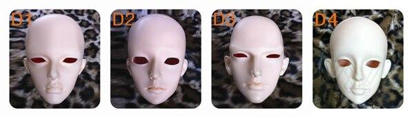 1/3 scala BJD Zio testa No make up BJD/SD bambola accessori solo per la Pratica di Trucco. non incluso gli occhi, ciglia, e il trucco-in Accessori per bambole da Giocattoli e hobby su AliExpress - 11.11_Doppio 11Giorno dei single 1