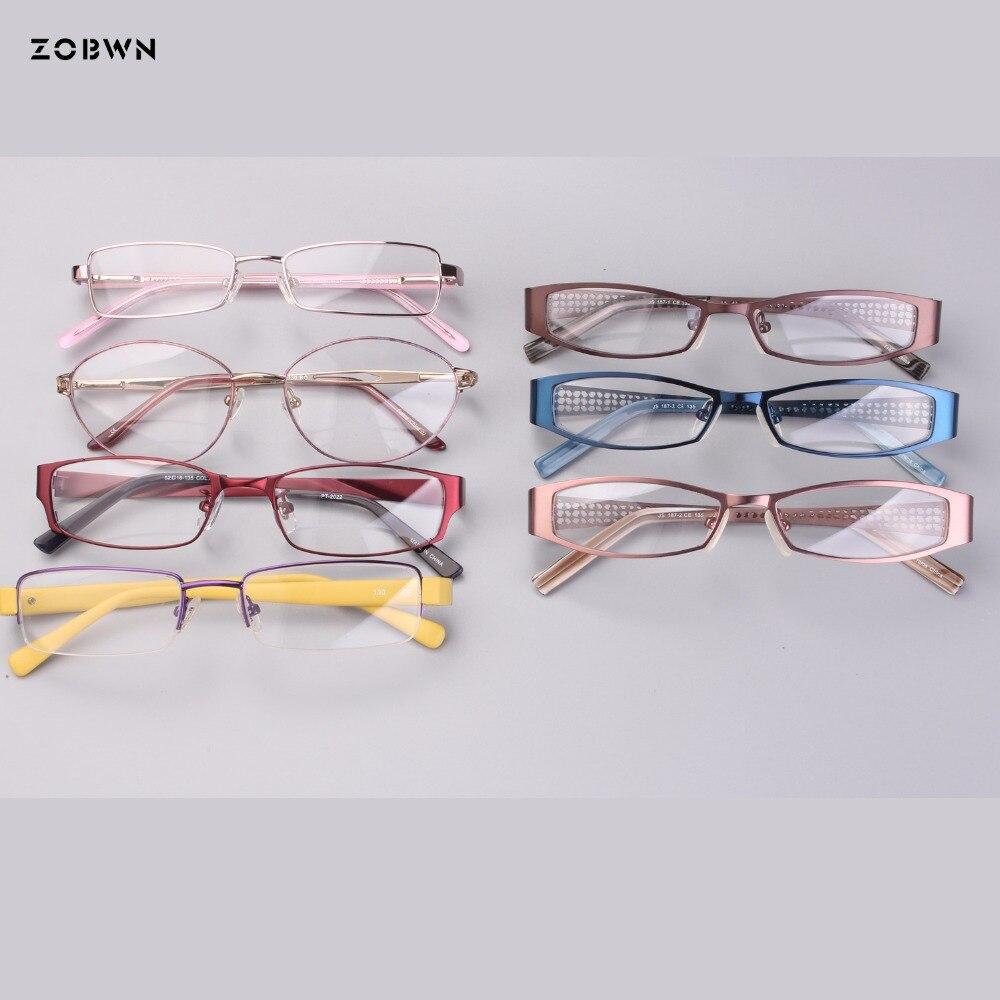 Großhandel Myopie Für Brillen Klassische Frauen Männer Grau Eye Cat Mode Rahmen Metall Lesen De Oculos gqOBxgTr