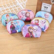Wallet Purse Coin-Elsa-Handbag Mermaid Frozen Mickey Princess Children Cartoon Disney