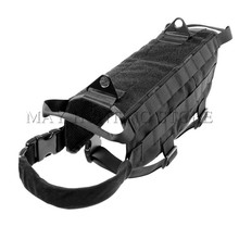 600D Nylon Outdoor Multifunctional Police Tactical Military Molle System Dog Military Tactical Equipment Training Dog Vest(China)