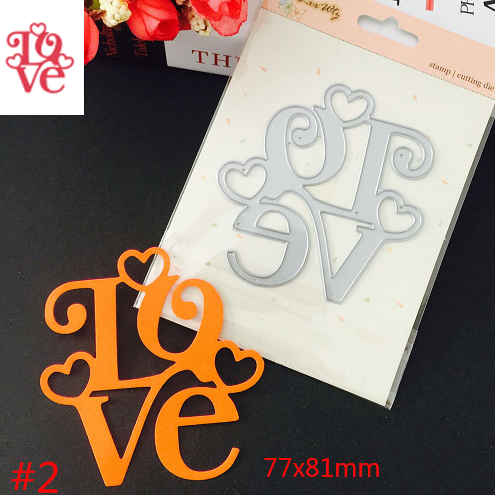 Heart Dies Magic Wand Metal Cutting Dies For Scrapbooking Diy Photo Album Card Decorative Embossing Electronic Components & Supplies