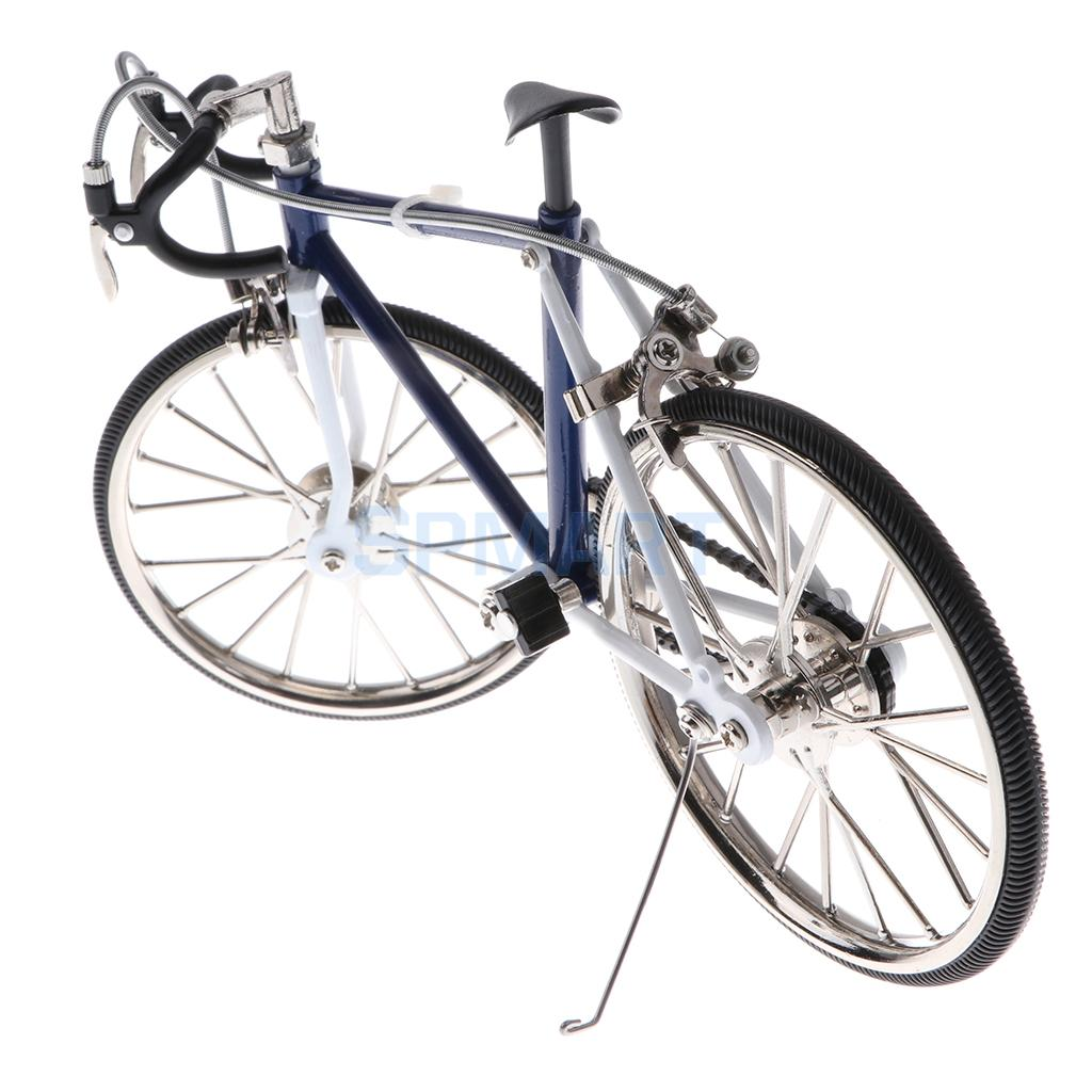 1:10 Scale Alloy Diecast Racing Bike Model Replica Bicycle Cycling Toy Desk Craft Collection Blue la prairie platinum collection replica набор platinum collection replica набор