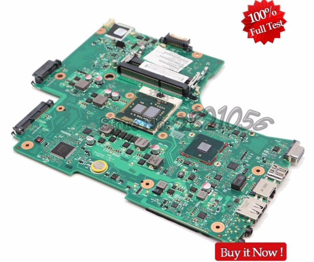 NOKOTION Laptop Motherboard For Toshiba Satellite L650 C650 L655 MAIN BOARD V000218010 6050A2332401 HM55 UMA DDR3